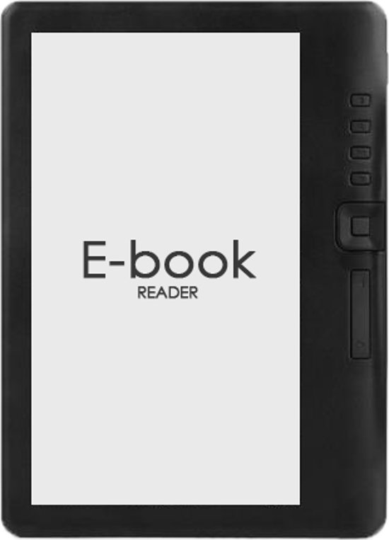 Maoo Simple E-Reader – Extra Groot Beeldscherm + Oordopjes & Hoesje – 8GB - Maoo - Zwart – E-Book Reader