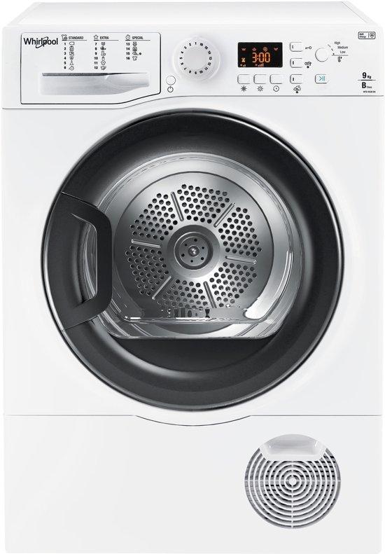 Whirlpool WTD 950B BK EU wasdroger Vrijstaand Voorbelading Wit 9 kg B