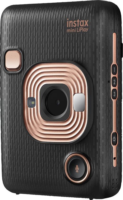Fujifilm Instax Mini LiPlay - Elegant Black