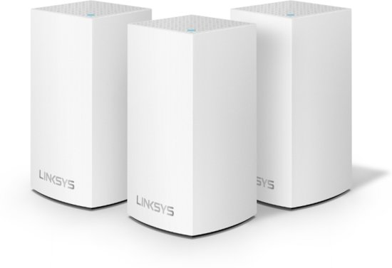 Linksys Velop dual-band - Multiroom Wifi Systeem - Triple Pack