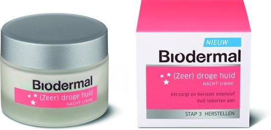 Biodermal (Zeer) droge huid - vochtinbrengende nachtcrème 50ml