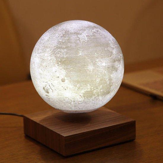 Zwevende maan lamp