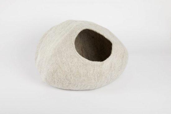 Cat cave stone
