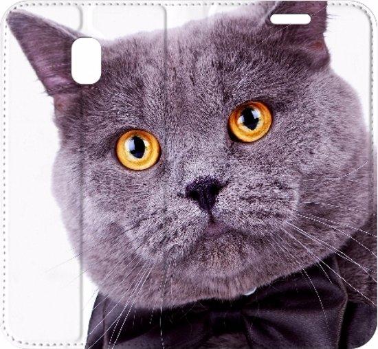 Uniek Design Hoesje Samsung Galaxy J3 2017, Kat in Holst