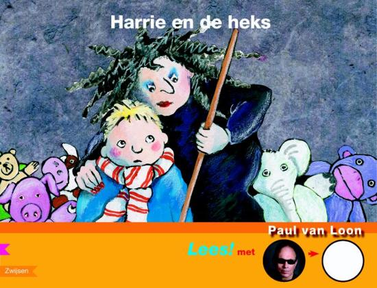 Cover van het boek 'Harrie en de heks' van Paul van Loon