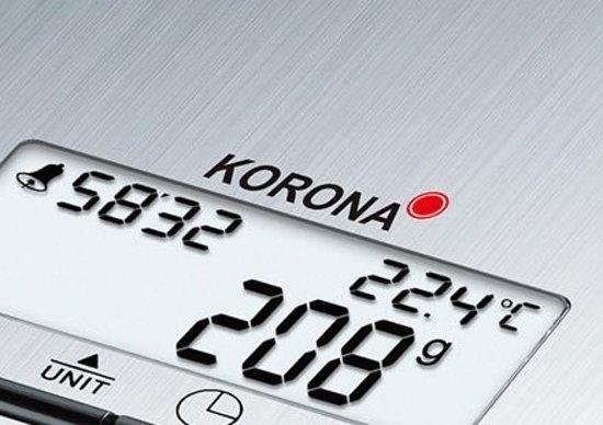 Korona 75656 Weegschaal Kim - Keukenweegschaal