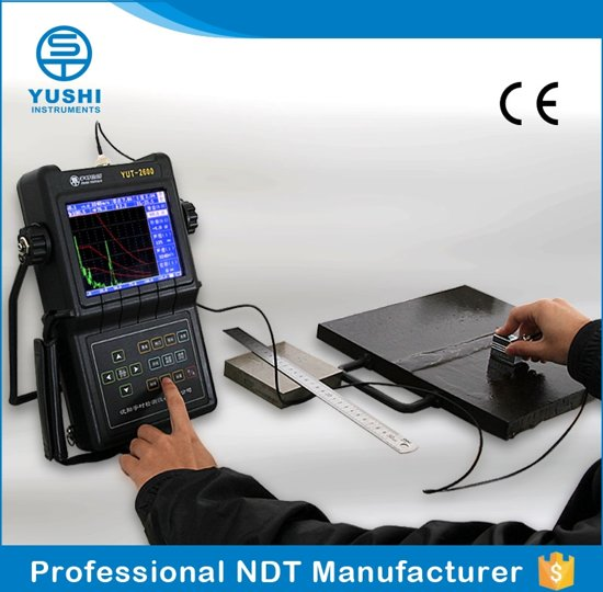 YUSHI YUT2600 manufacturer of portable UT digital flaw detector for welding