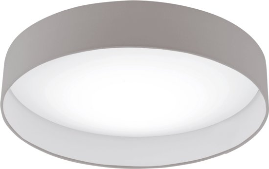Plafoniere Eglo Led : Bol eglo palomaro plafonniere led Ø mm wit taupe