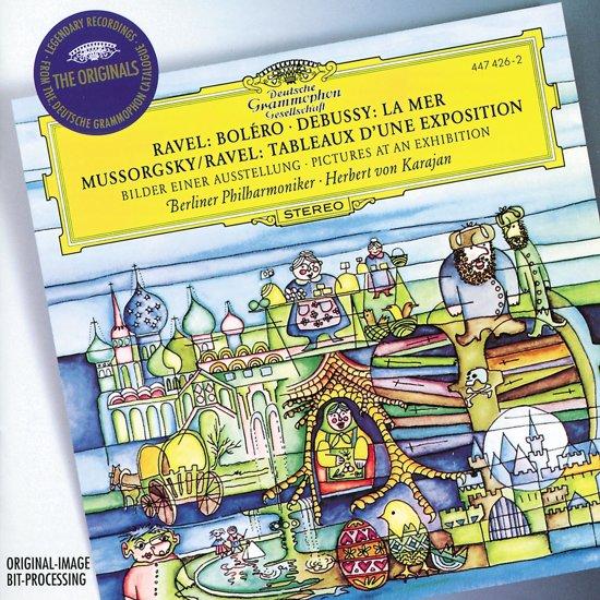 Ravel: Bolero;  Debussy, Mussorgsky / Karajan, Berlin PO