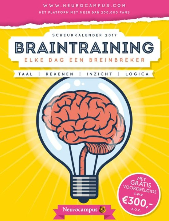 Neurocampus braintraining scheurkalender 2017
