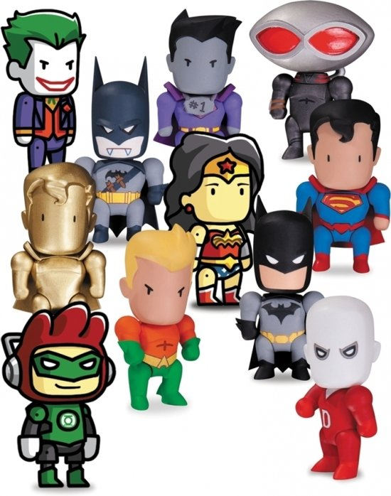 Scribblenauts Unmasked: BMB Mini Figures Series 1