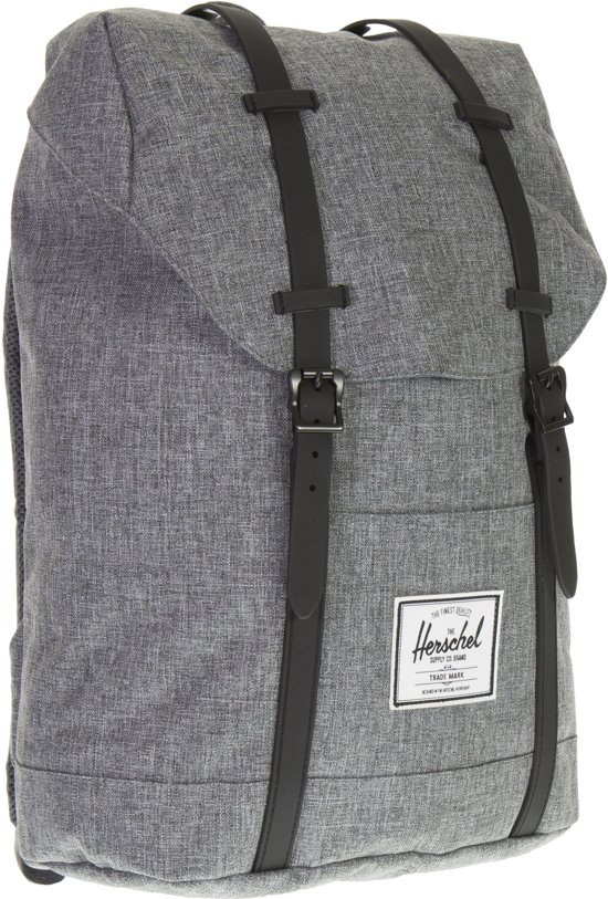 aeb9536d202 Herschel Supply Co. Retreat - Rugzak - Raven Crosshatch   Black