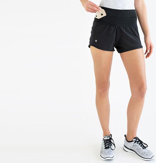 FlipBelt - Running Short - Runningbelt - Hardlopen - Heupband - Hardloopbroekje - Dames - Maat M