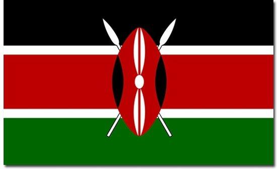 Vlag Kenia 90 x 150 cm