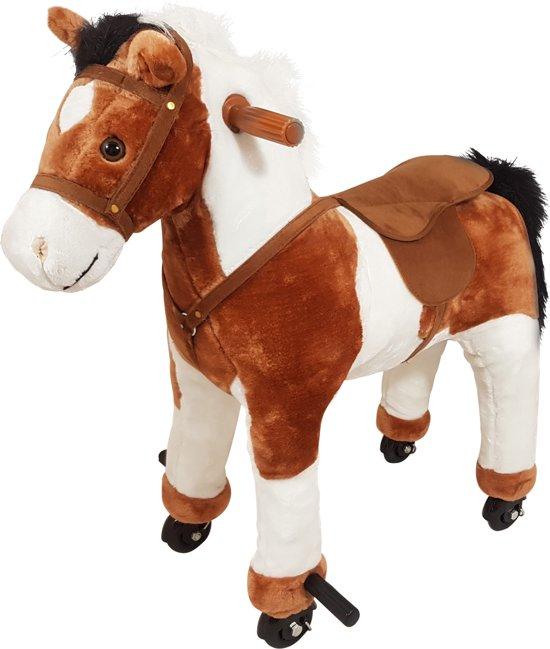 Playwood mechanisch rijdend paard met geluid for Nep fruit waar te koop