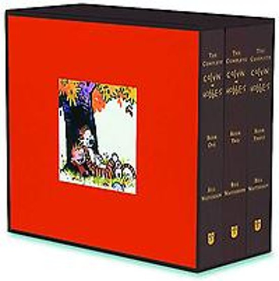 Calvin and Hobbes: Complete Calvin and Hobbes (3 Vol. Hardback Boxed Set) - Bill Watterson