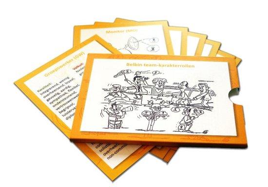Belbin & Ofman teamrol talentkaart (duurzaam matlaminaat kaarten)