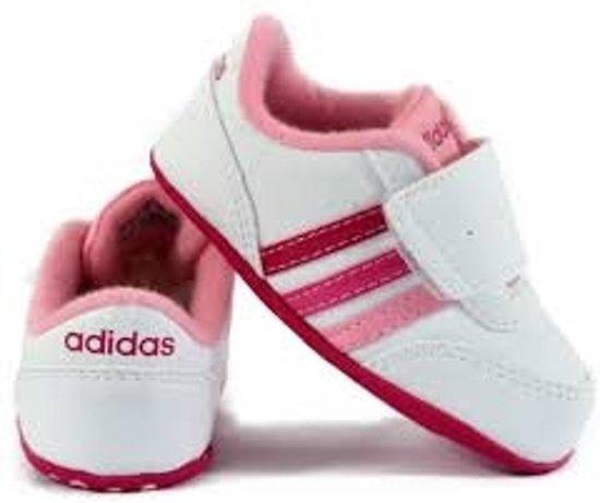 Adidas Crèche Jogging V - Sneaker - Enfants - Blanc - Taille 19 exDLaey