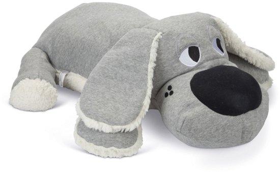 Beeztees Puppy Boomba XL Knuffel - Hondenspeelgoed - Grijs - 70x40x21 cm