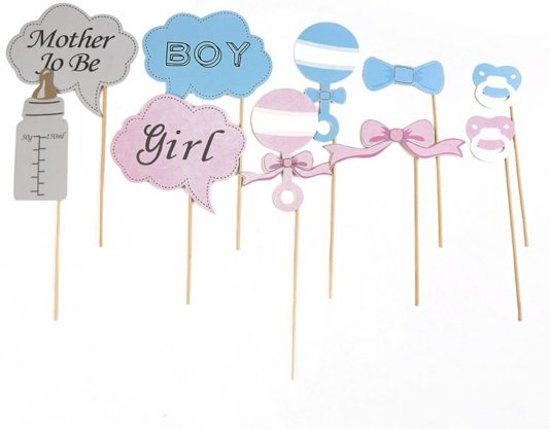 Photobooth Prop set - Baby shower