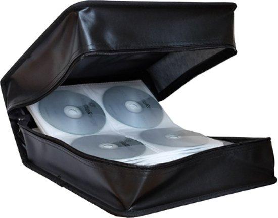 CD Wallet MediaRange voor 400 CD/DVDs zwart