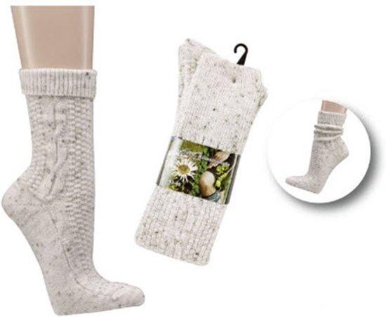 Een Warme Winter : Bol.com 2 paar warme winter sokken van een wolmix
