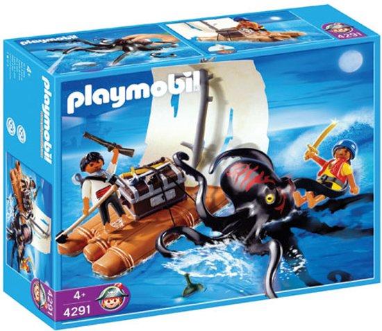 Playmobil Reuze Inktvis met Piratenvlot - 4291
