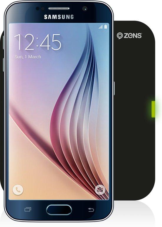 ZENS Qi Draadloze Oplader voor mobiele telefoons - Zwart