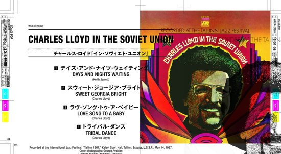 Charles Lloyd In The Soviet Un