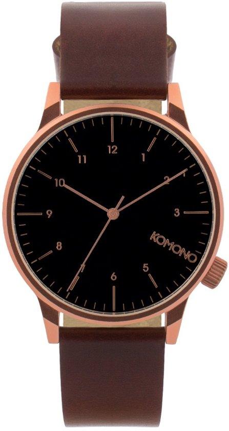 Komono Winston Regal Burgundy Horloge