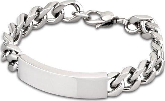 Lotus style LS1554-2/1 - armband - zilverkleurig staal - 21cm