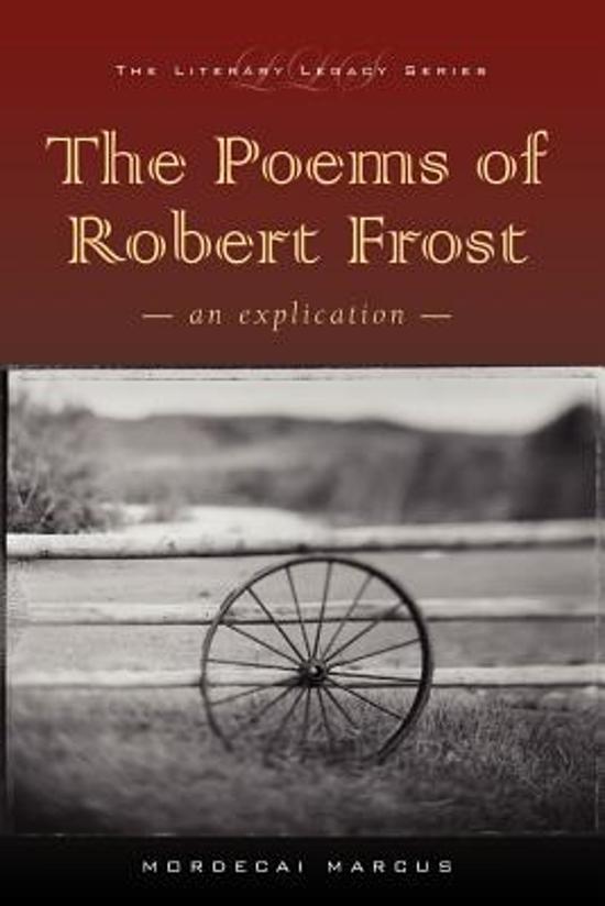 optimism poetry of robert frost