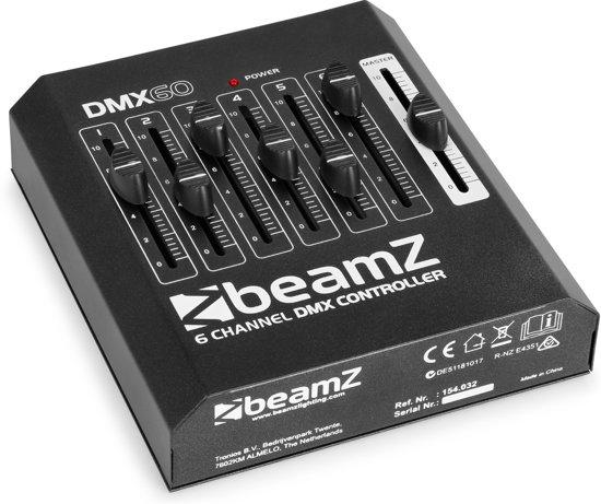 BeamZ DMX60 6-kanaals DMX controller