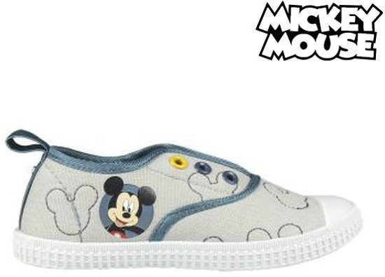 7f0807fc984446 bol.com | Casual Sneakers Mickey Mouse 72884 Grijs