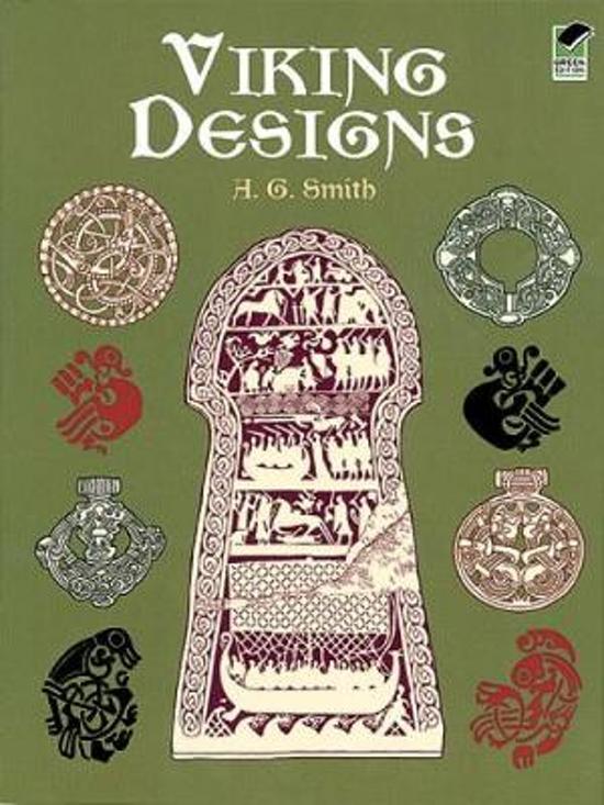 Bolcom Viking Designs Albert G Smith 9780486404691 Boeken