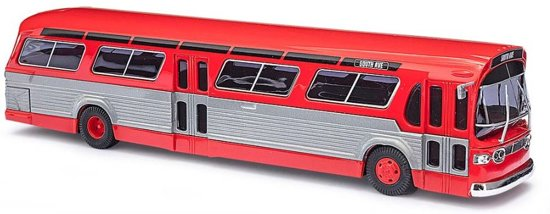 Busch - Bus Fishbowl Rood **