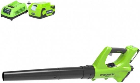 GREENWORKS 24V accu bladblazer + 4 Ah accu