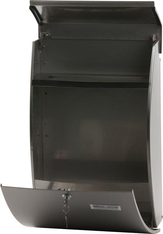RVS brievenbus - 15x32,5x48,5 cm
