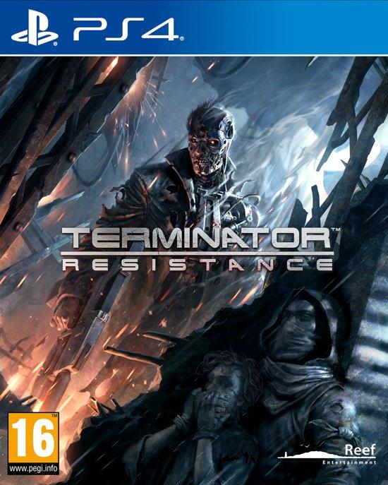 Cover van de game Terminator Resistance - PS4