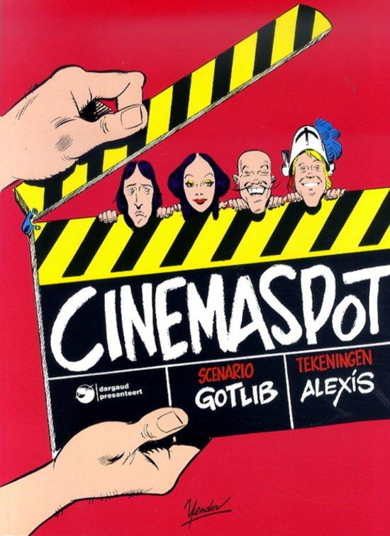 Cinemaspot 1  zwartwit stripboek