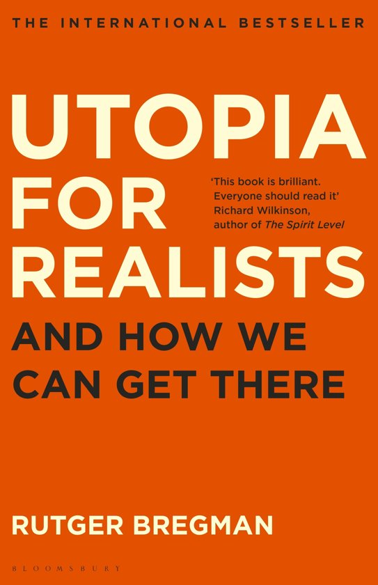 Boek cover Utopia for Realists van Rutger Bregman (Onbekend)