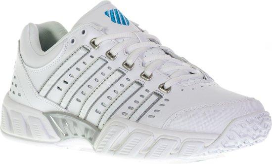 K-Swiss Bigshot Tennisschoenen - Maat 39 - Vrouwen - wit/zilver/blauw