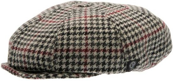 CTH Mini Theodor Jr. Newsboy Cap Houndstooth-48