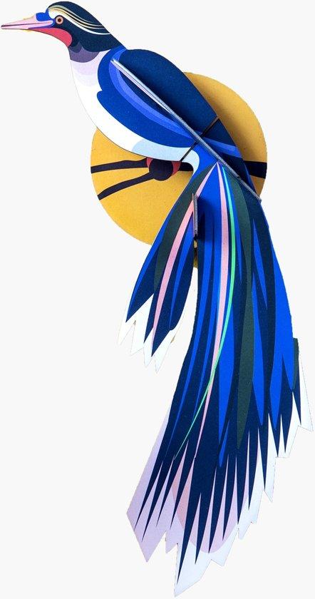 Studio ROOF | 3D Wanddecoratie | Paradijsvogel Flores
