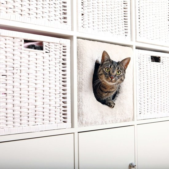 TRIXIE Kattenbed voor kubuskast 33x33x37 cm 44090