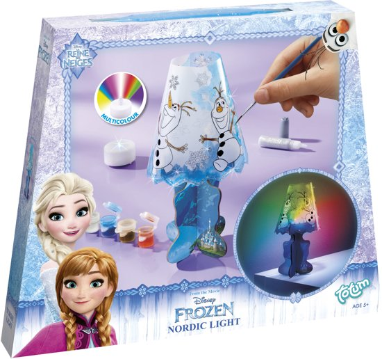 bol.com  Disney Frozen Nordic Light - Lampje beschilderen