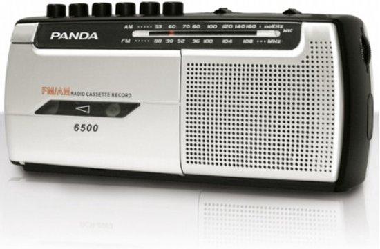 Daewoo DRP-107 radio Draagbaar Analoog Zwart, Zilver