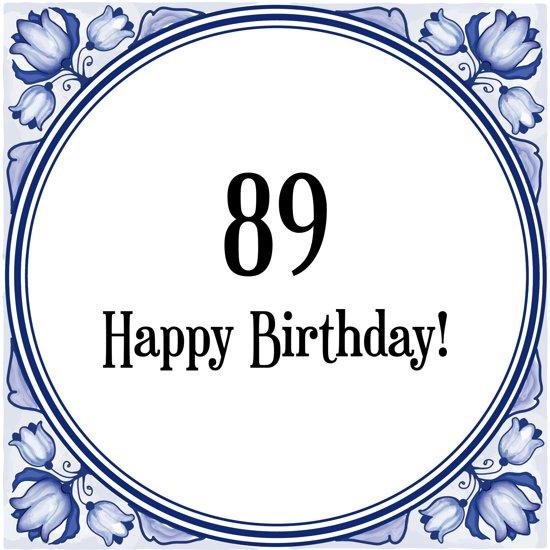 verjaardagswensen 89 jaar