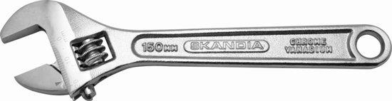 Skandia Moersleutel Chroom - 150 mm