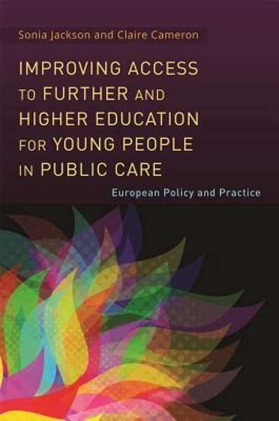 Improving Access to Further and Higher Education for Young People in Public Care